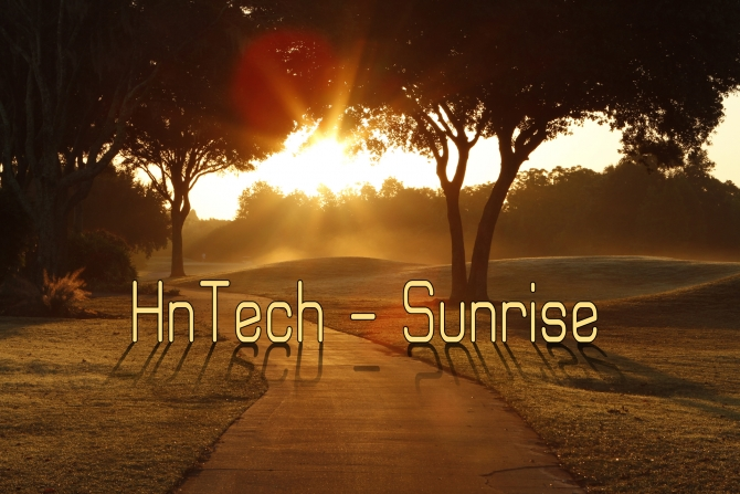 HnTech - Sunrise (on another planet)